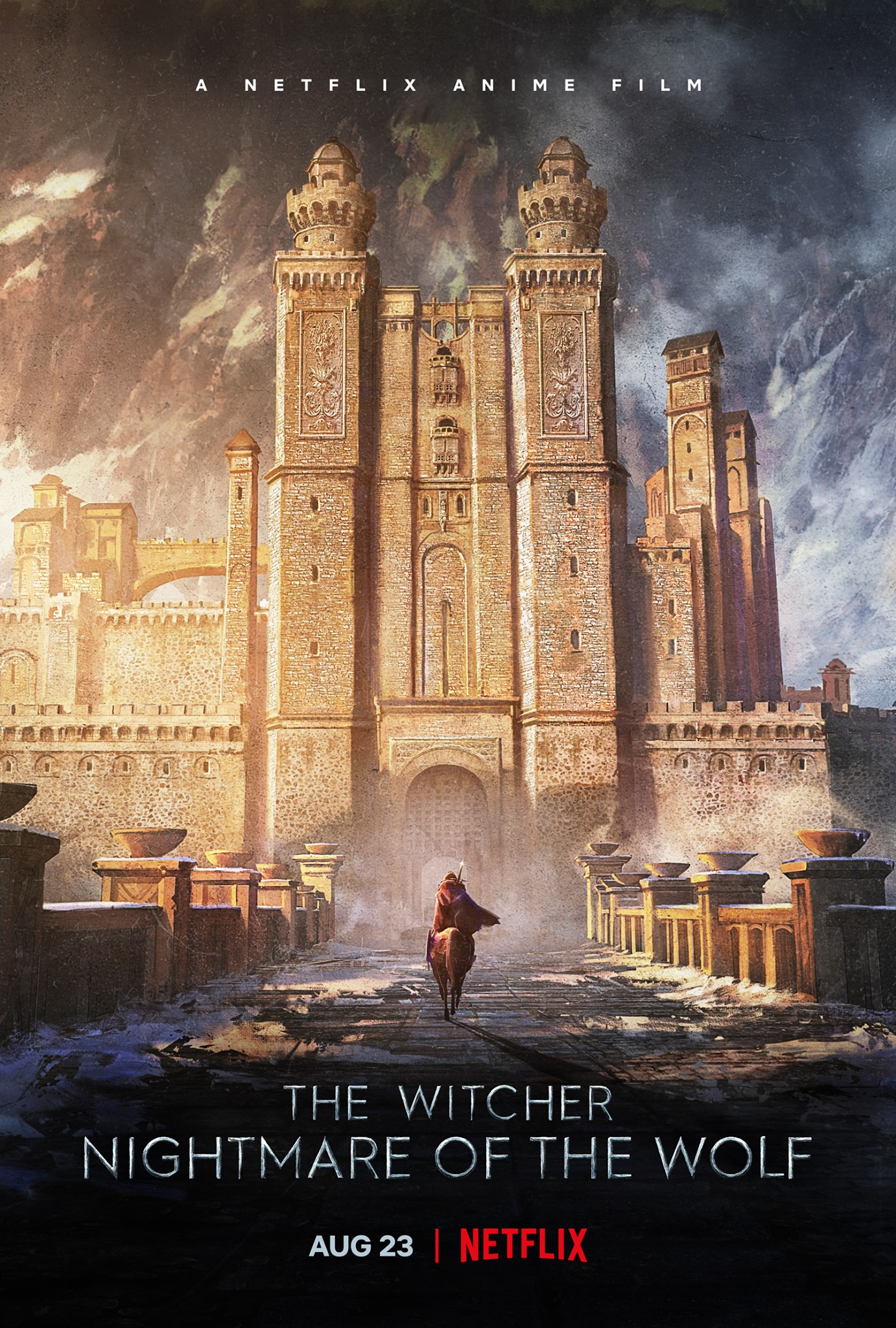 The Witcher: Nightmare of the Wolf: la locandina
