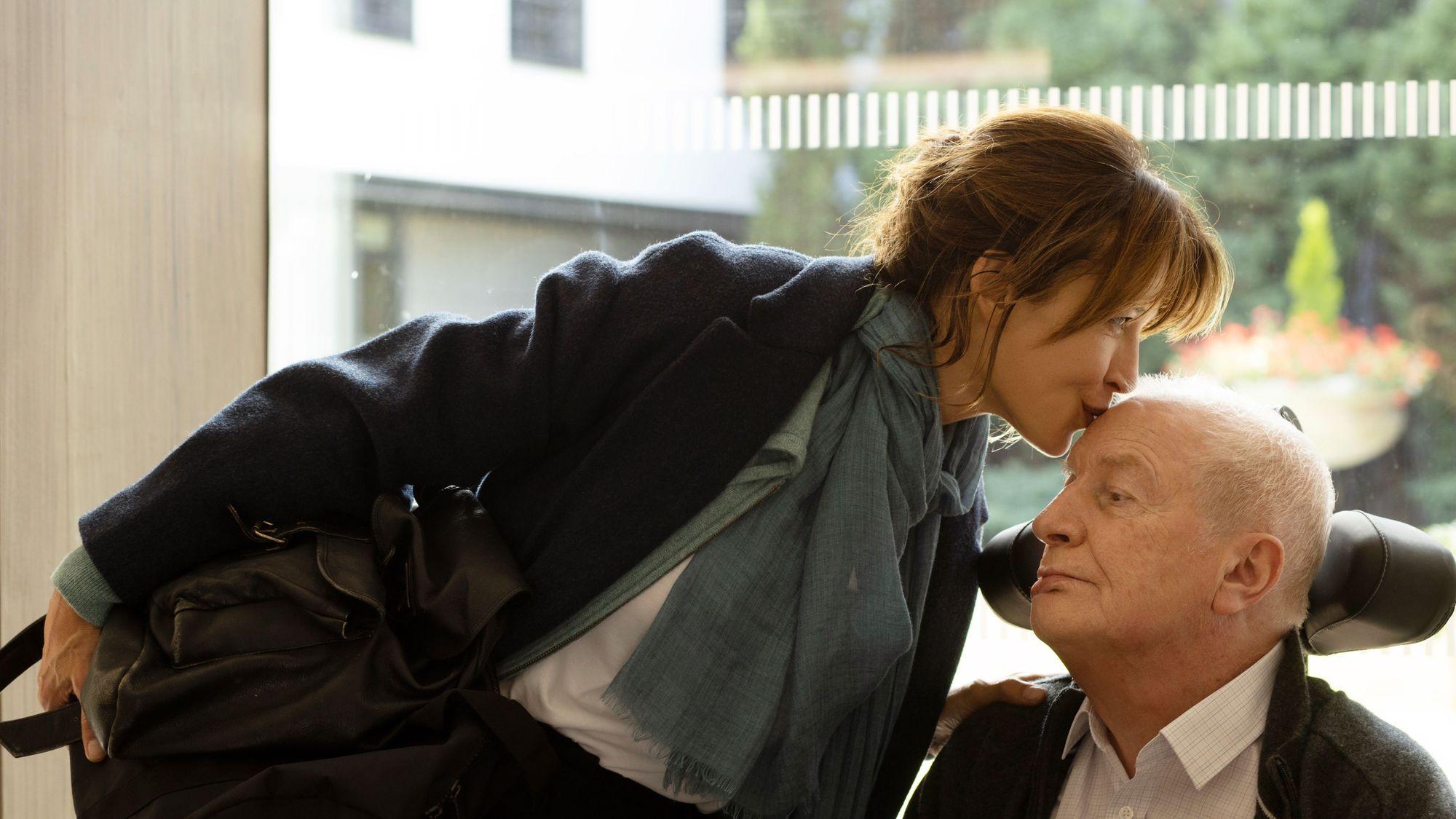 Sophie Marceau e André Dussollier in Everything Went Fine