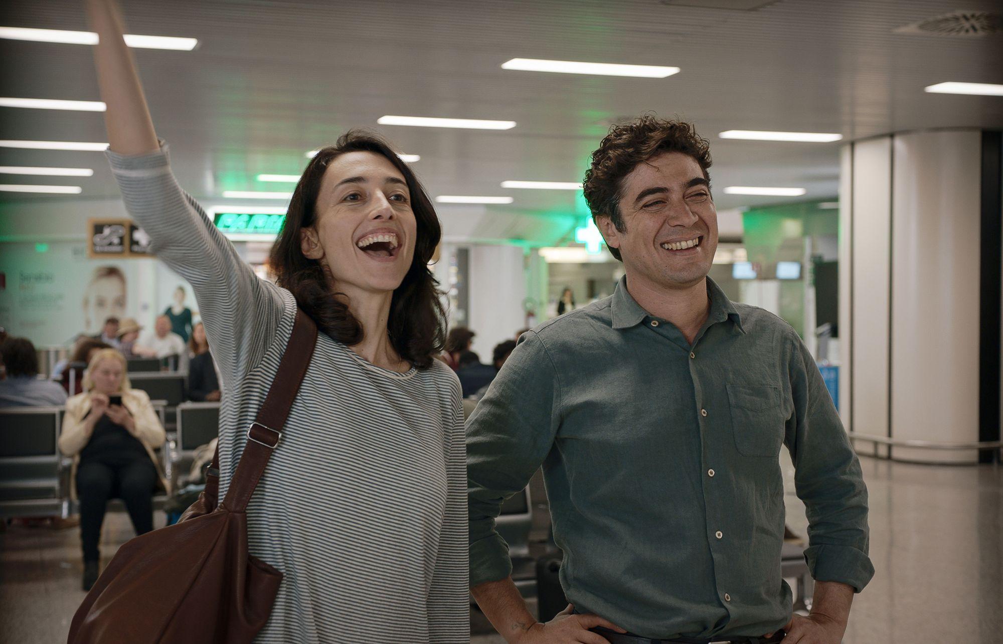 Elena Lietti e Riccardo Scamarcio