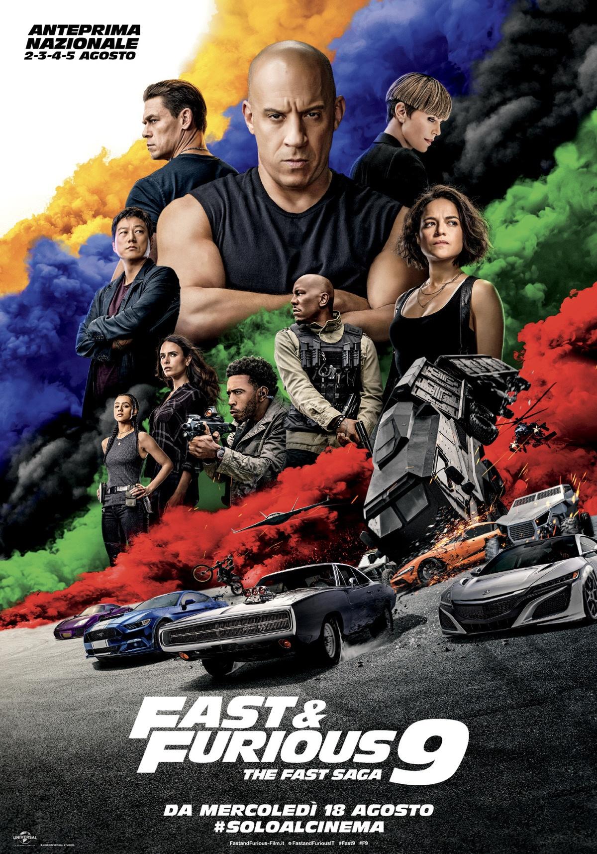 Film in uscita: Fast & Furious 9