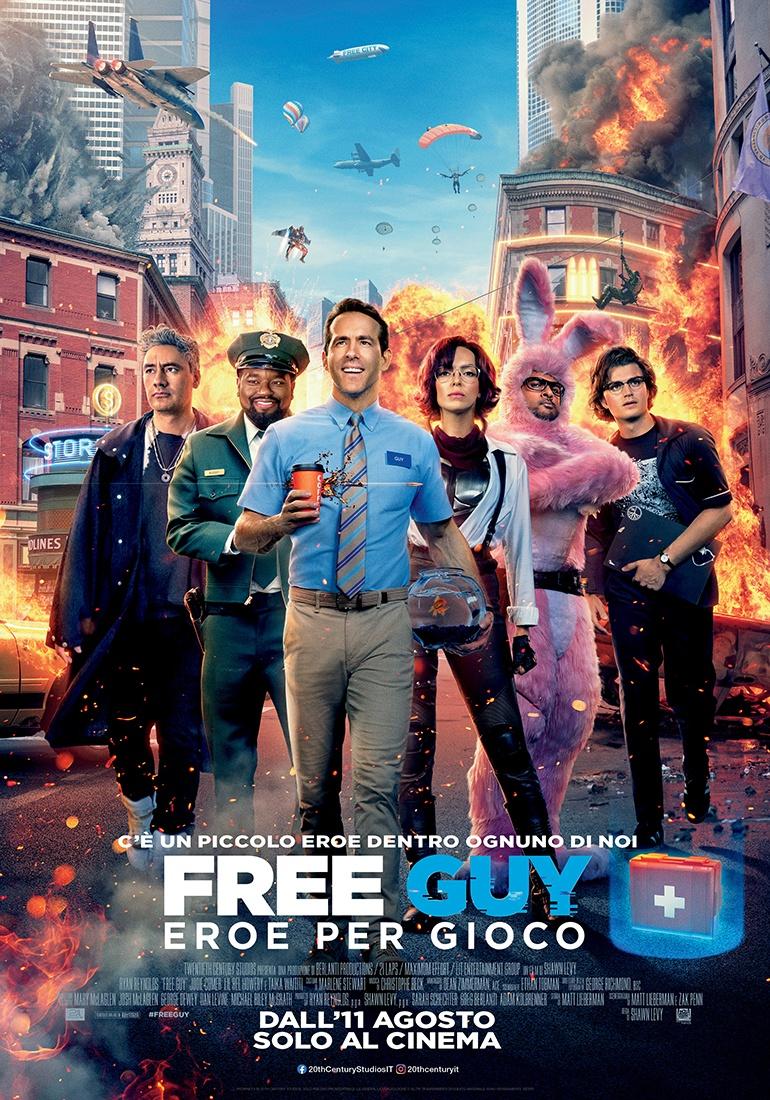 Film in uscita: Free Guy
