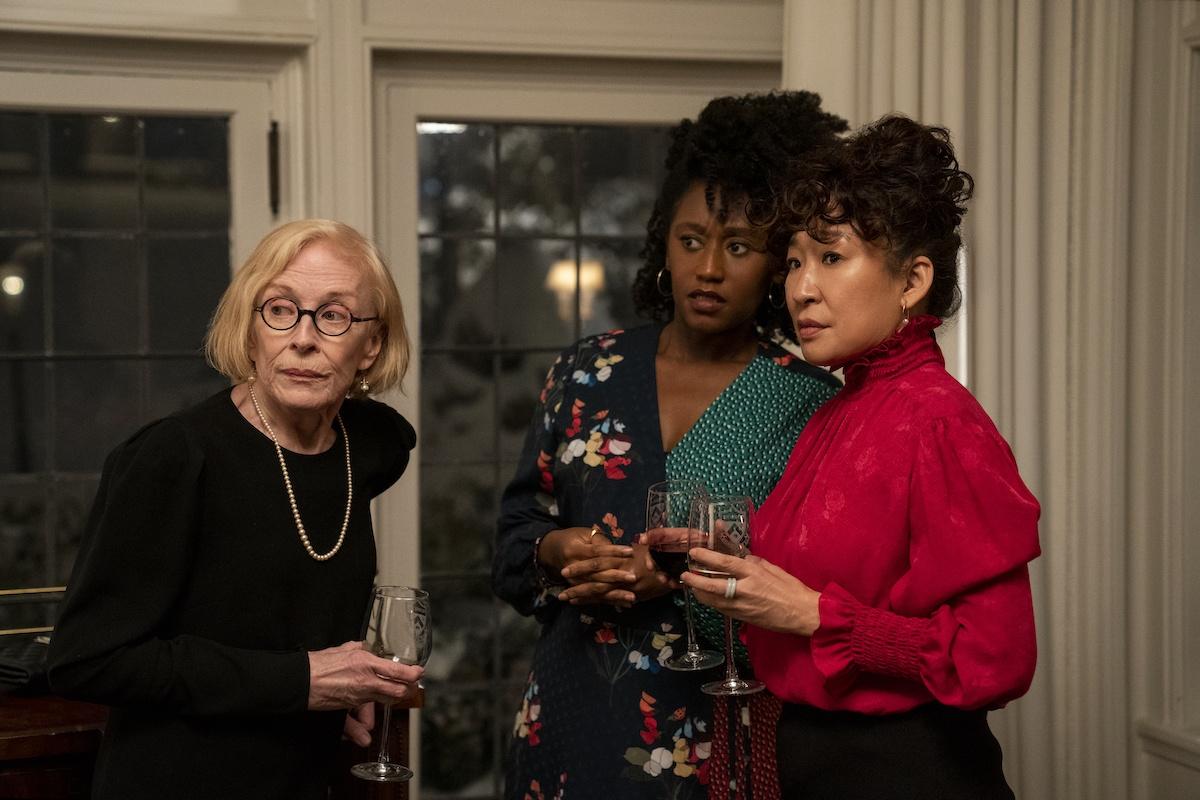 Holland Taylor, Nana Mensah e Sandra Oh