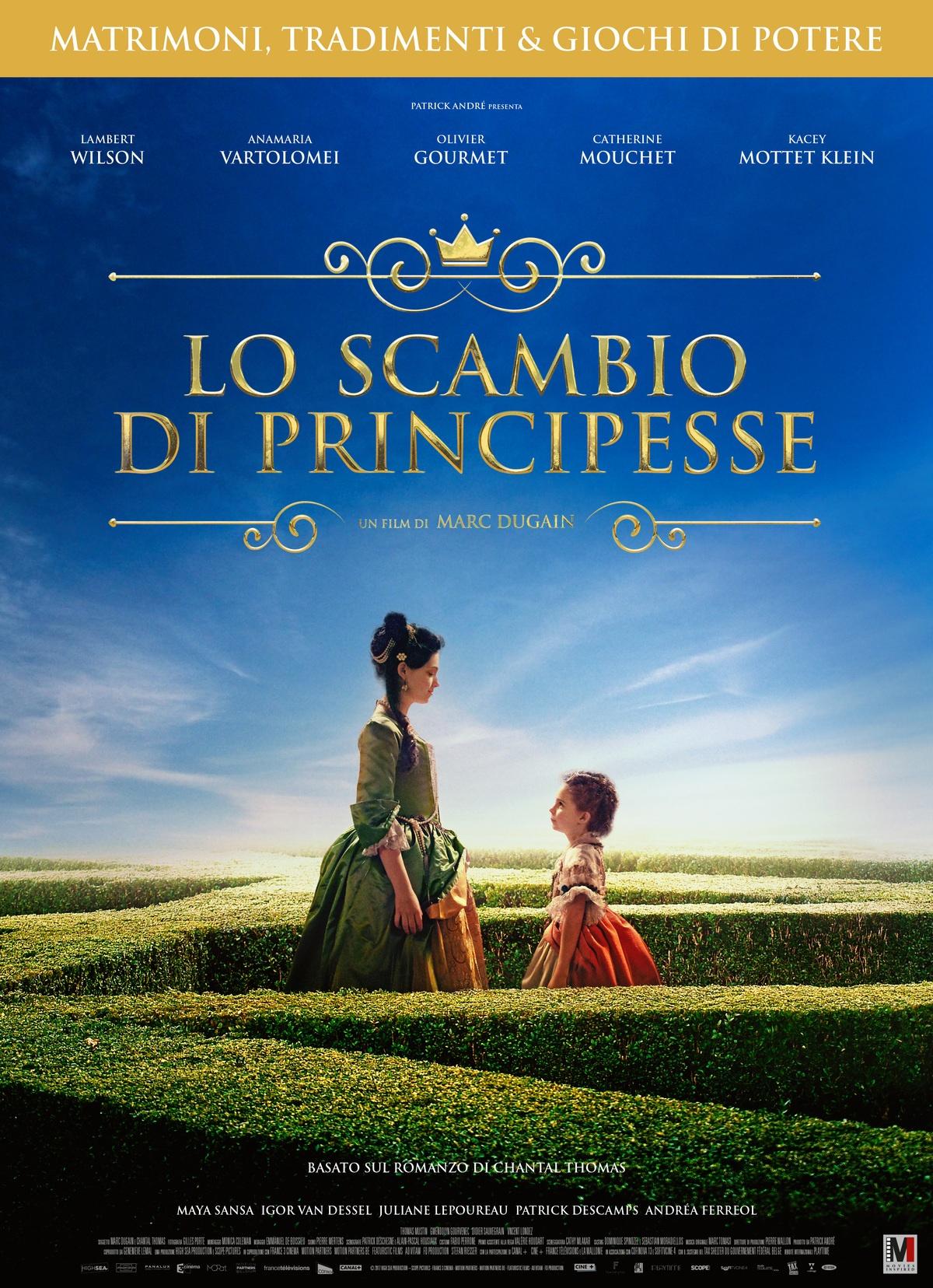Film in uscita: Lo scambio di principesse