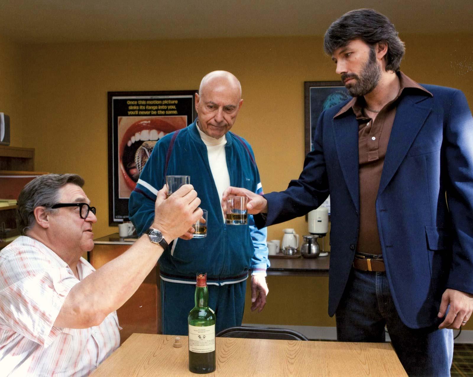 John Goodman, Alan Arkin e Ben Affleck
