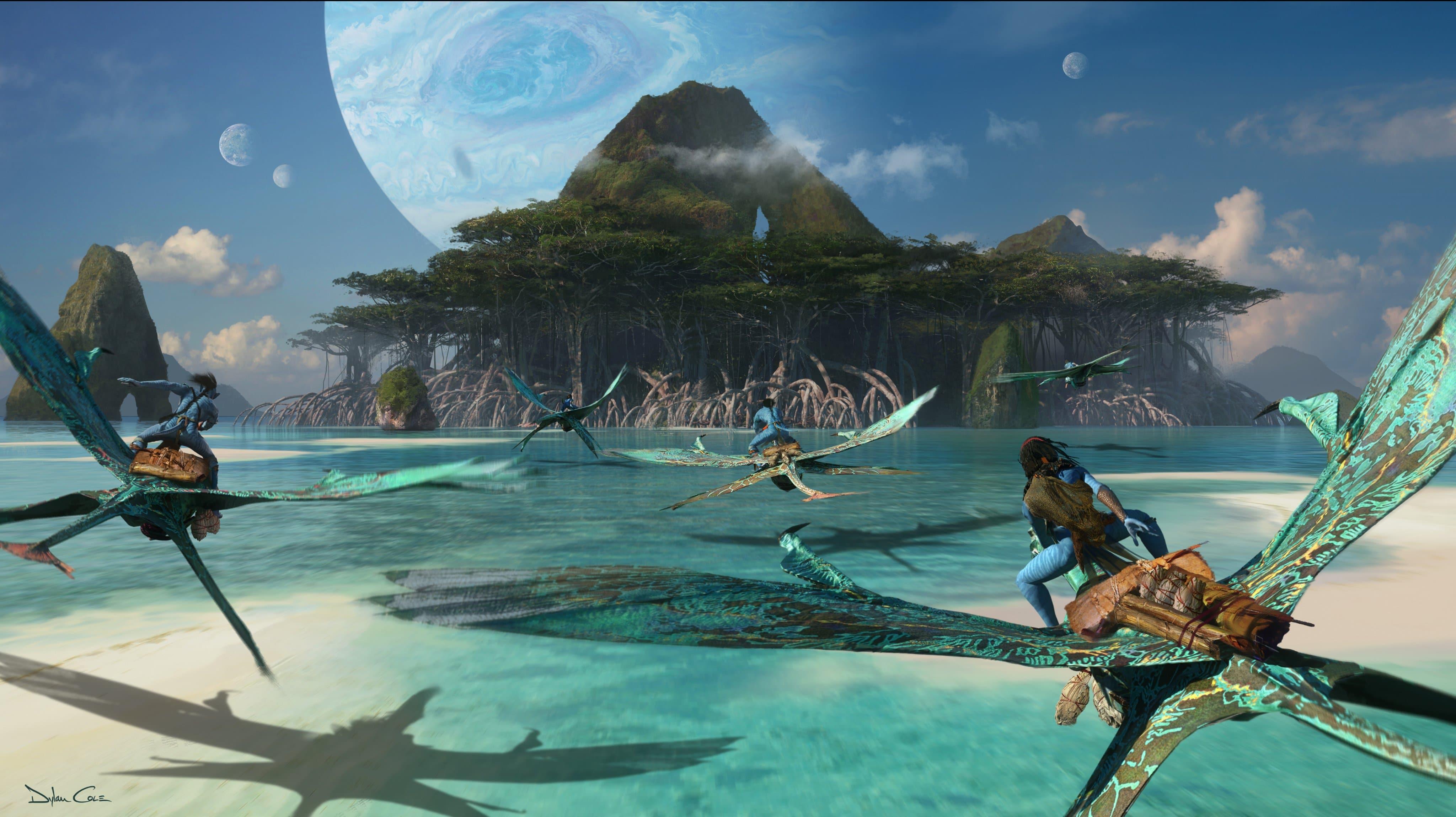 Avatar: Concept Art dei sequel