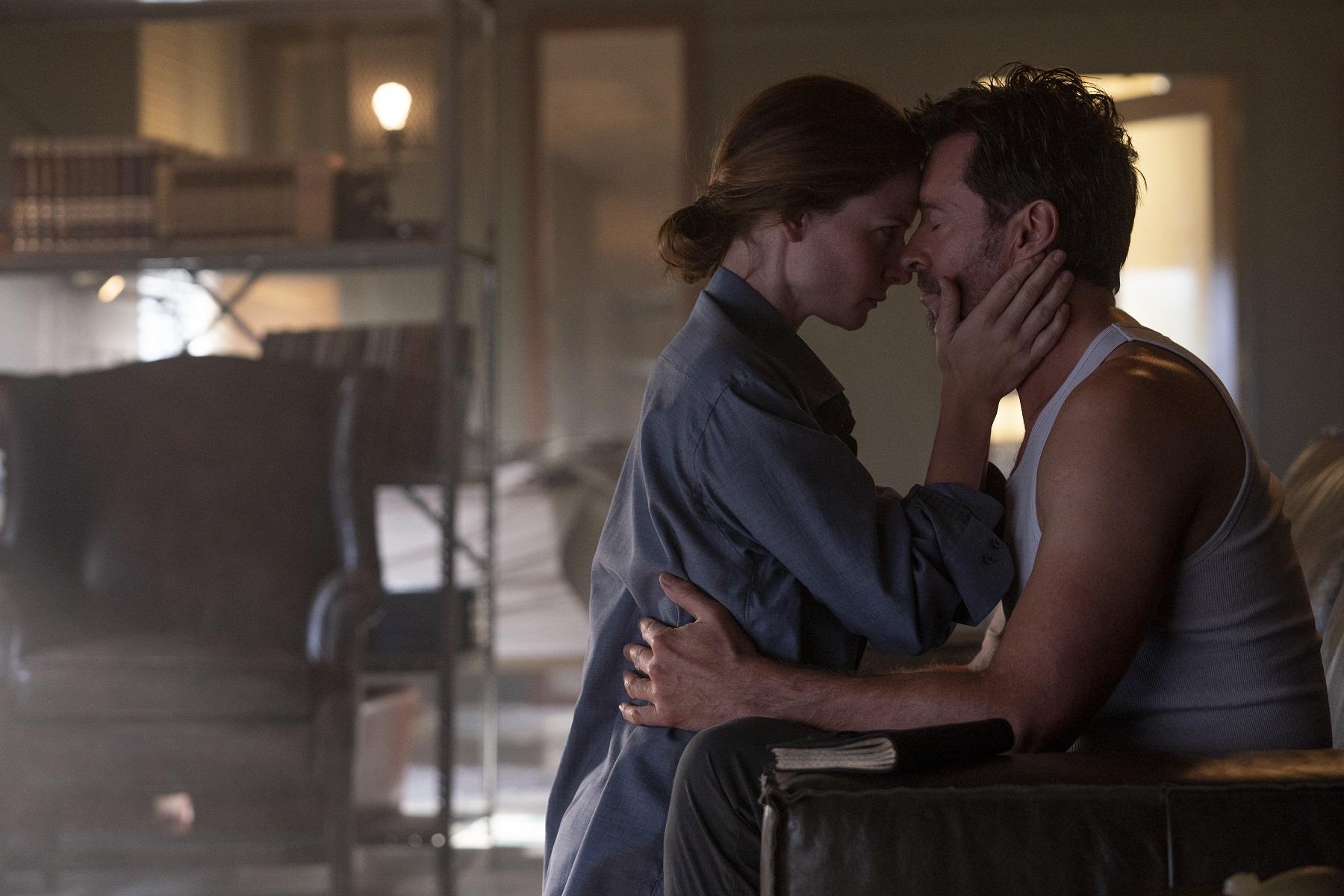 Rebecca Ferguson e Hugh Jackman
