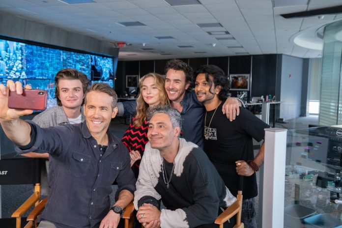Free Guy: l'intervista a Ryan Reynolds, Jodi Comer, Taika Waititi e Shawn Levy