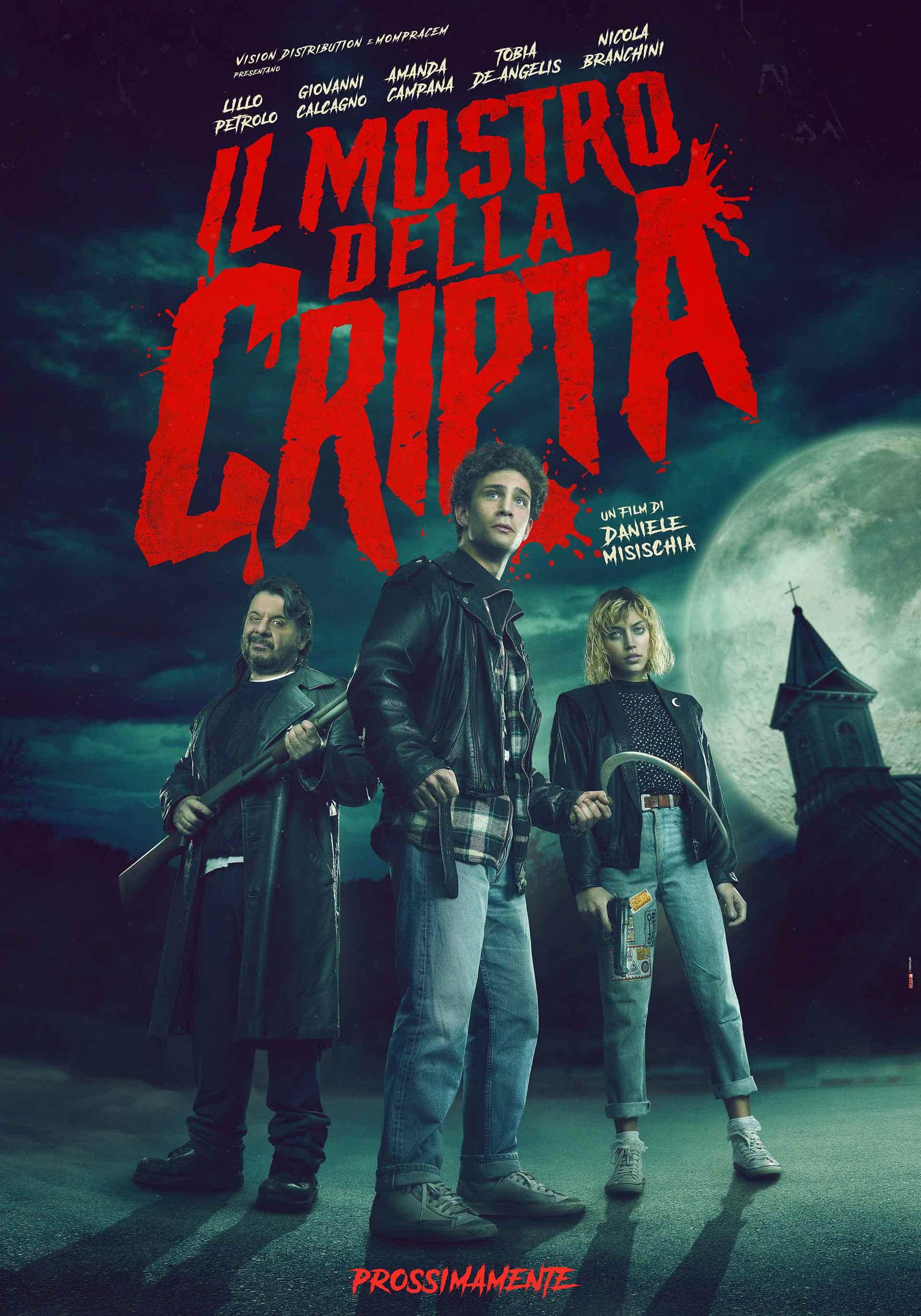 Il mostro della cripta: il poster