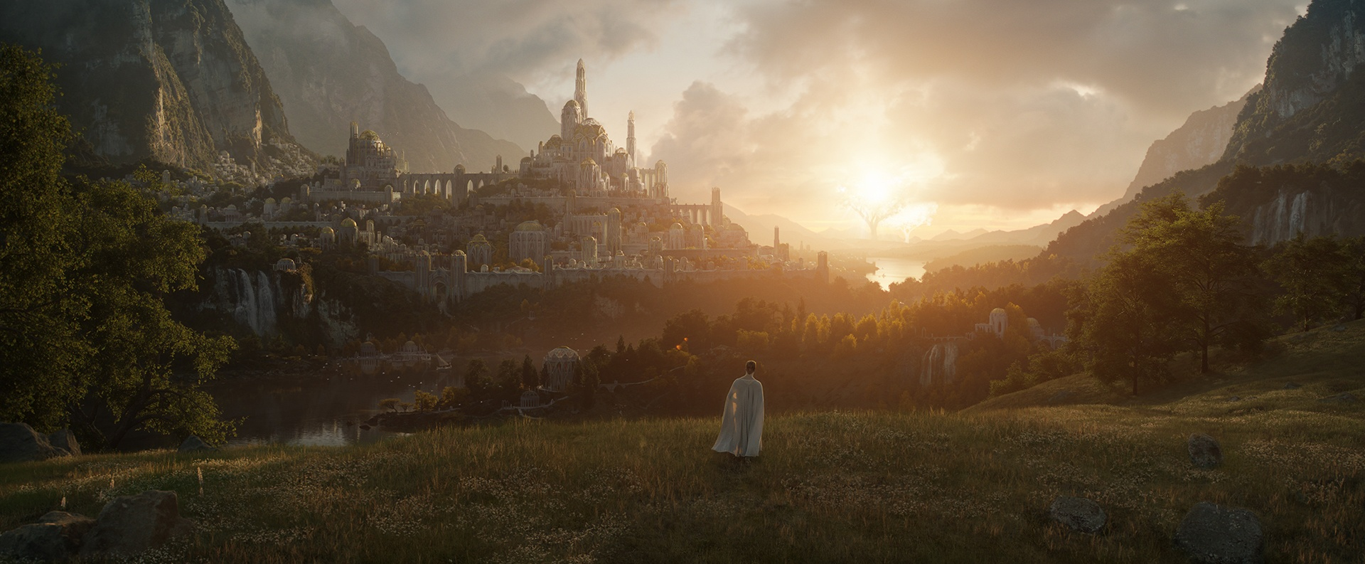 Il Signore degli Anelli: la data d'uscita e la prima immagine della serie TV Amazon