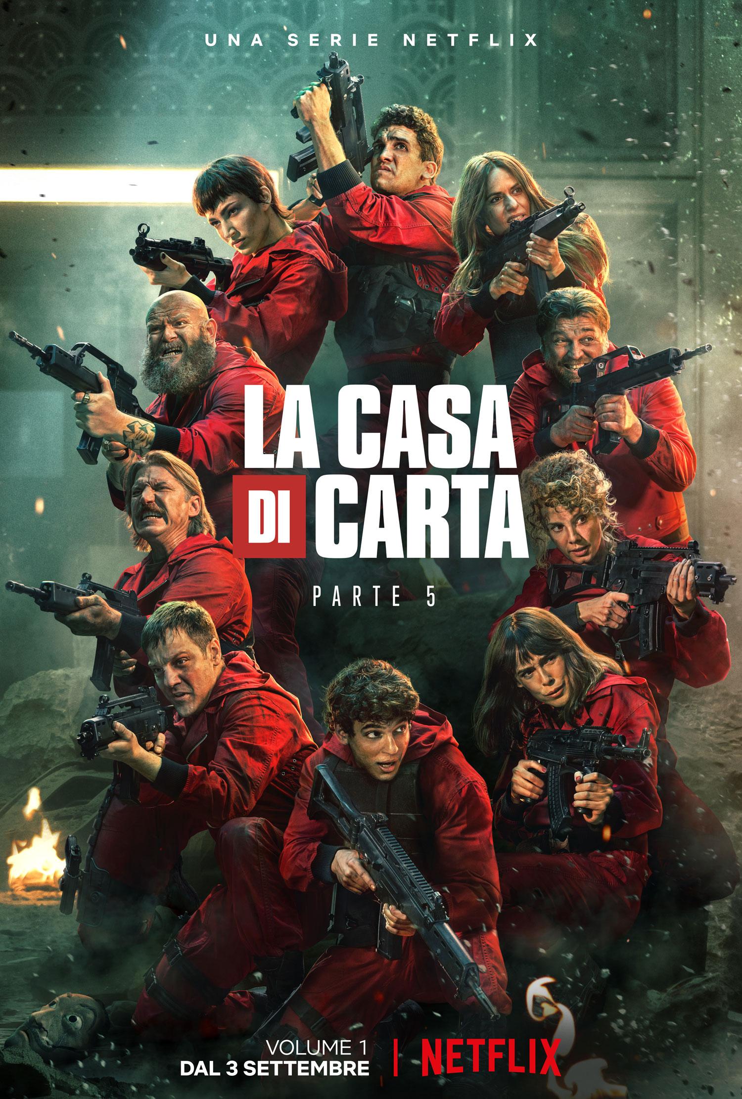 La casa di carta - Parte 5 il poster italiano