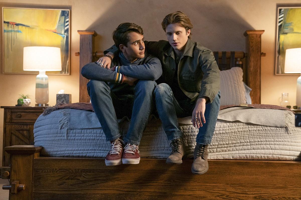 Victor (Michael Cimino) e Benji (George Sear)