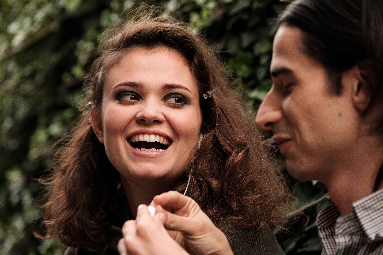Enrica Cortese e Claudio Pauri