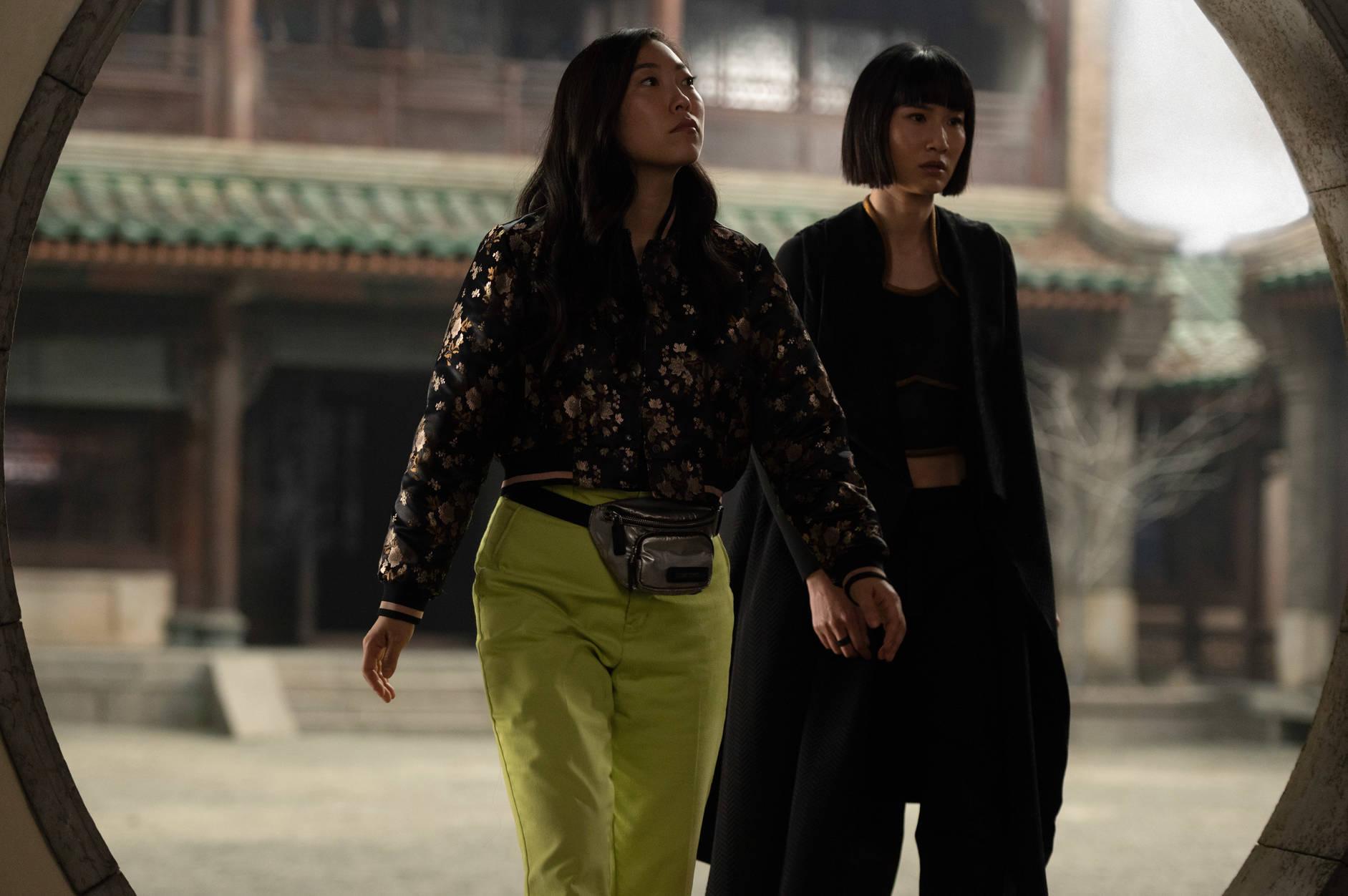 Awkwafina e Meng'er Zhang