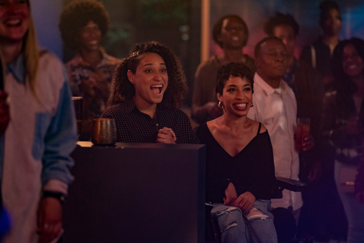 Rosanny Zayas come Sophie e Jillian Mercado come Maribel in THE L WORD: GENERATION Q
