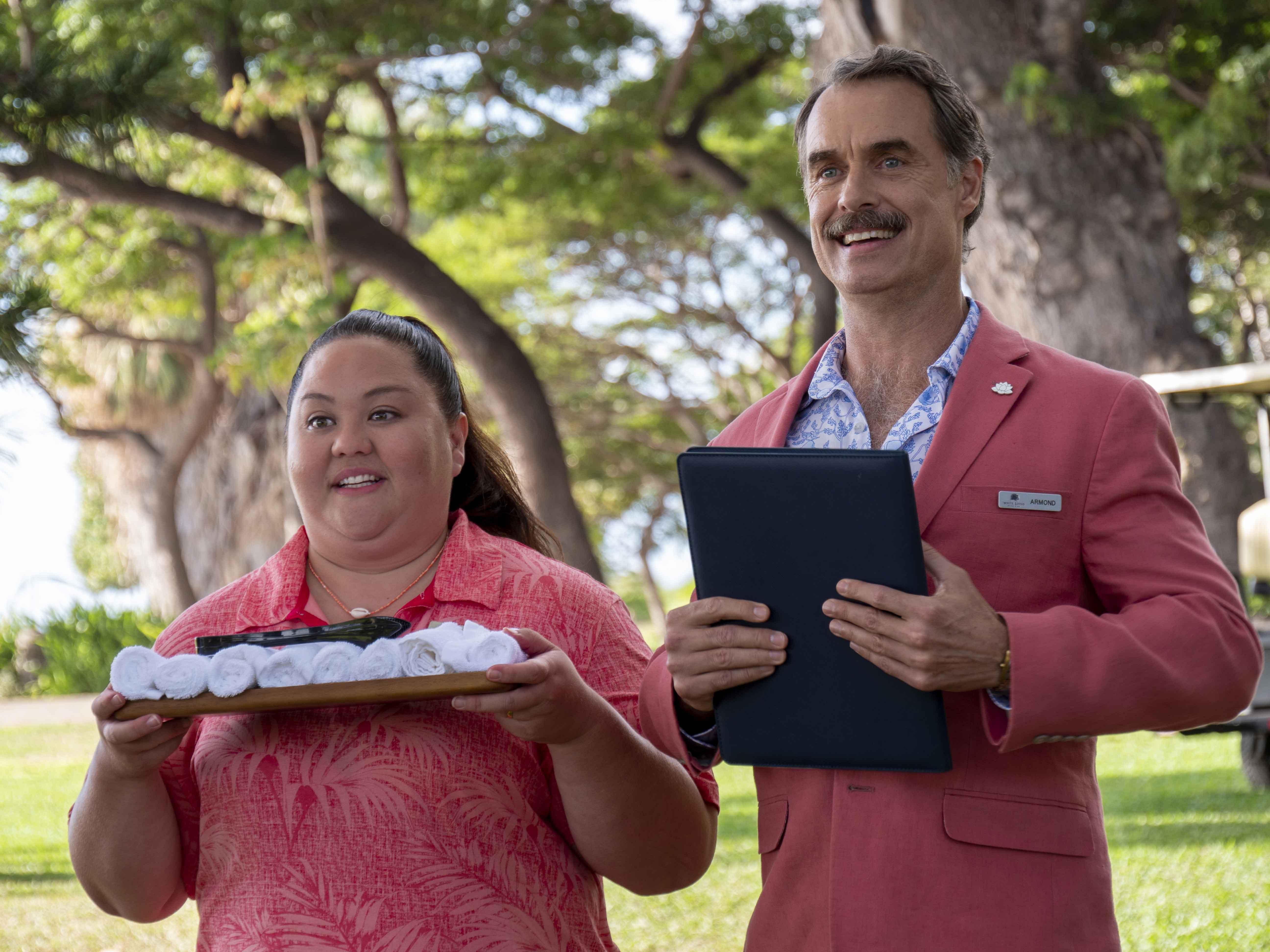 The White Lotus recensione serie TV Sky di Mike White con Murray Bartlett e Alexandra Daddario