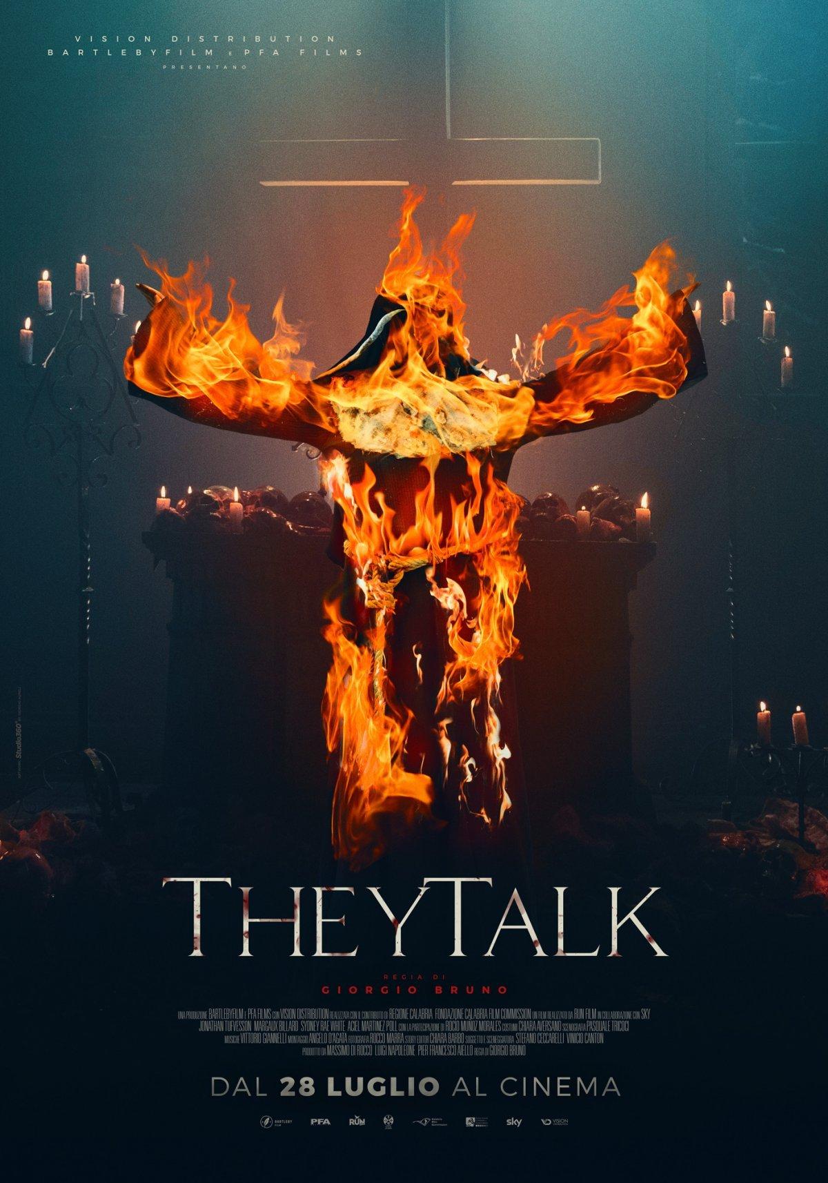 They Talk: il poster