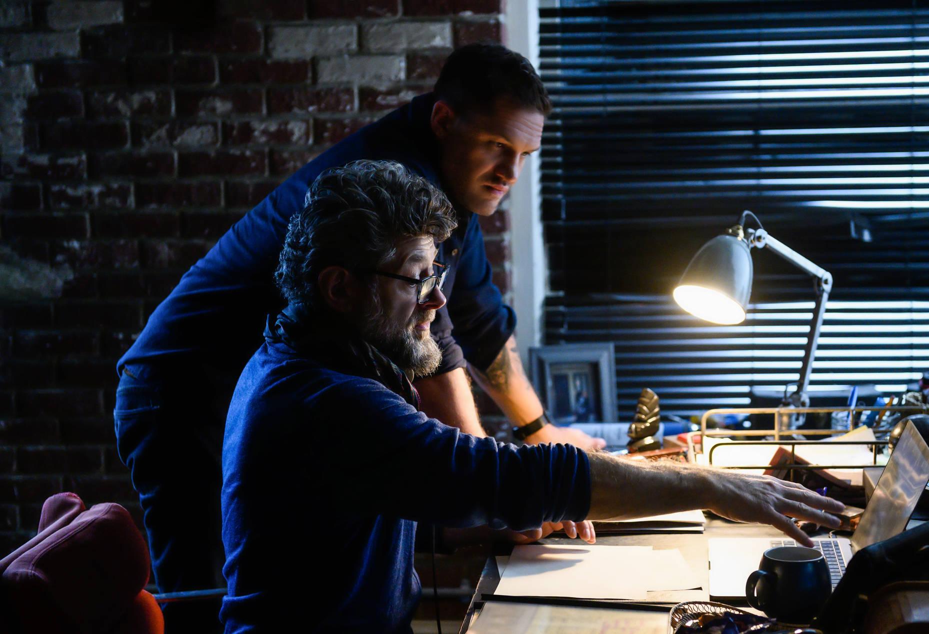 Andy Serkis e Tom Hardy