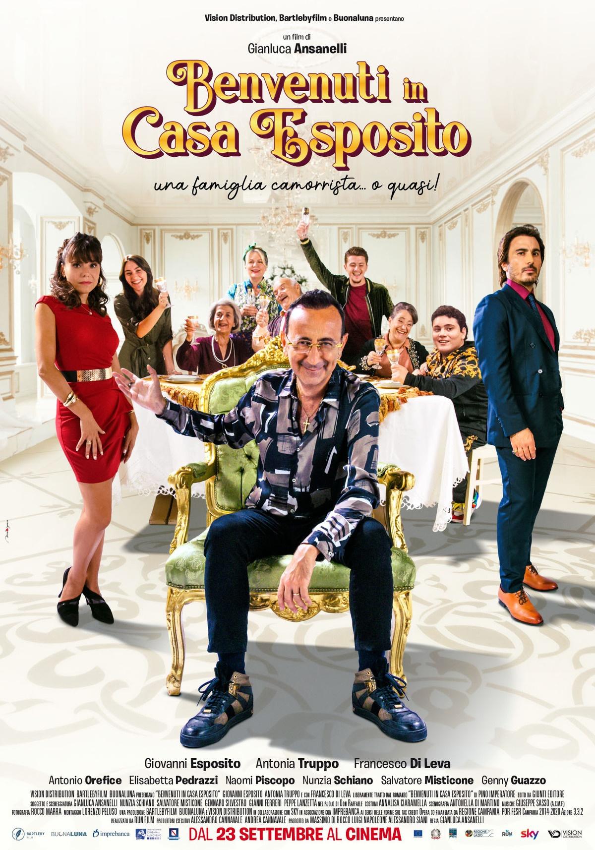 Film in uscita: Benvenuti in casa Esposito