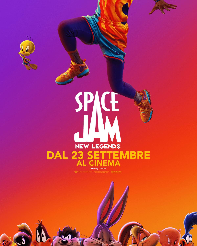 Film in uscita: Space Jam: New Legends