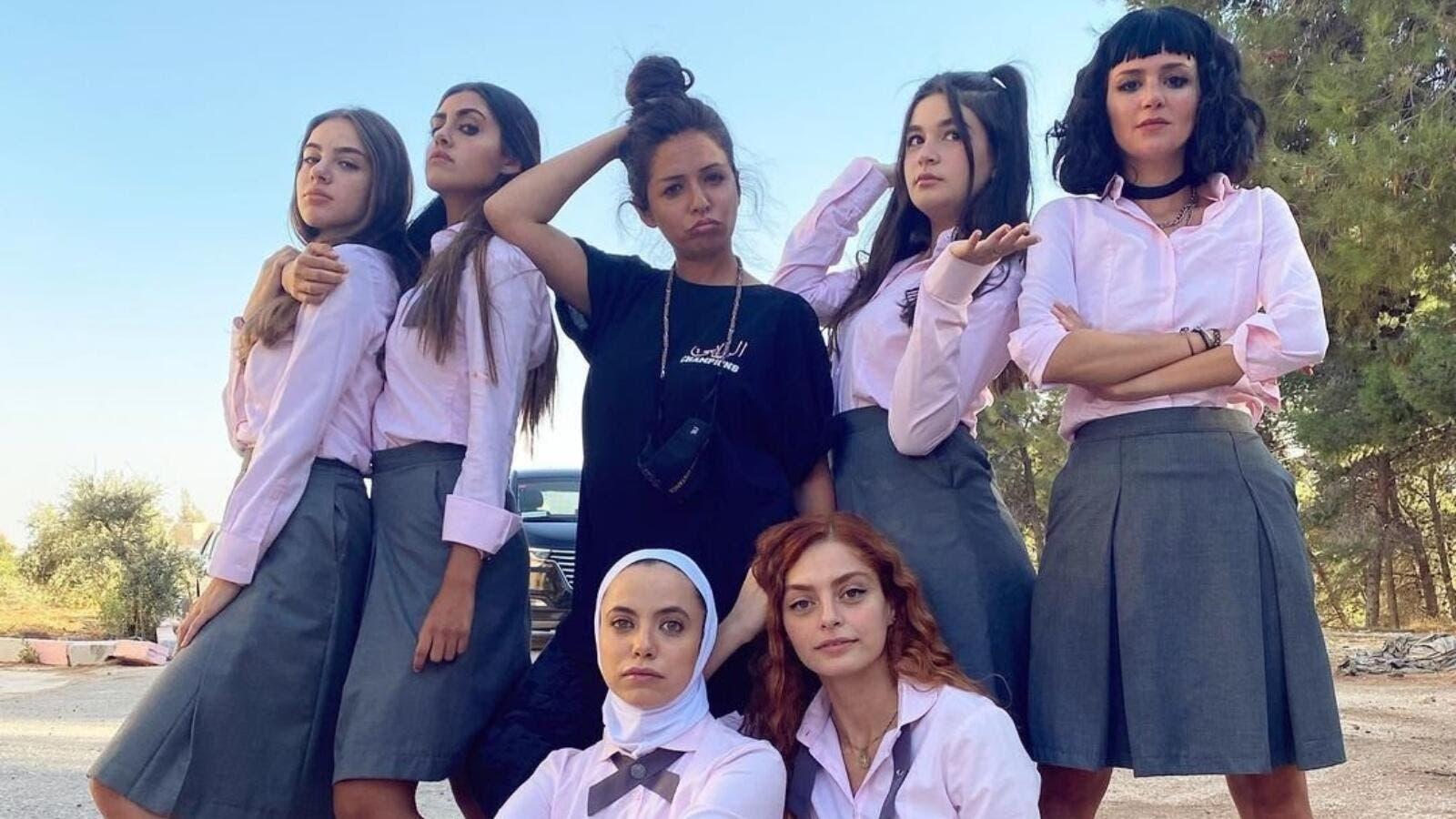 Il cast al femminile di AlRawabi School for Girls