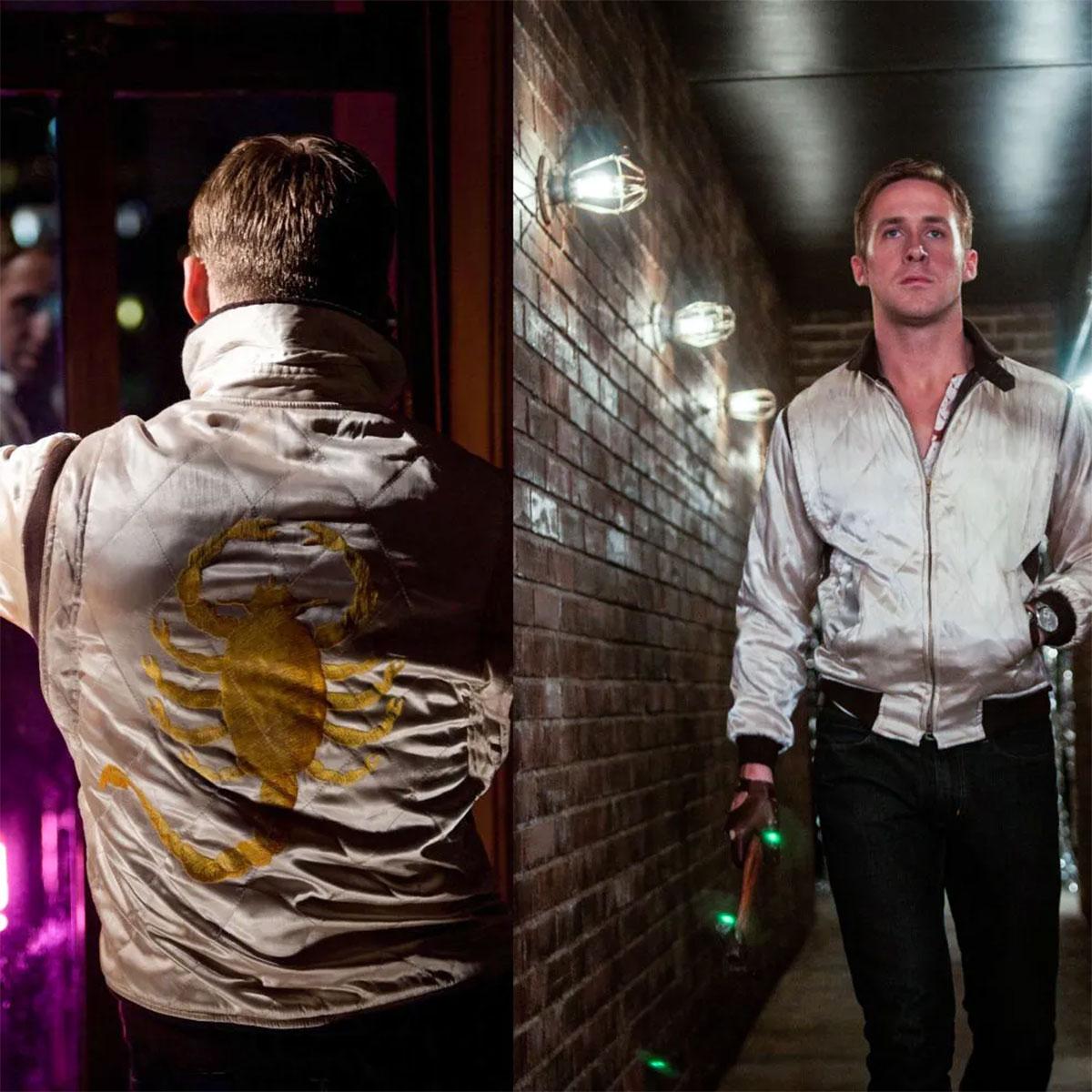 La mitica giacca del pilota indossata da Ryan Gosling