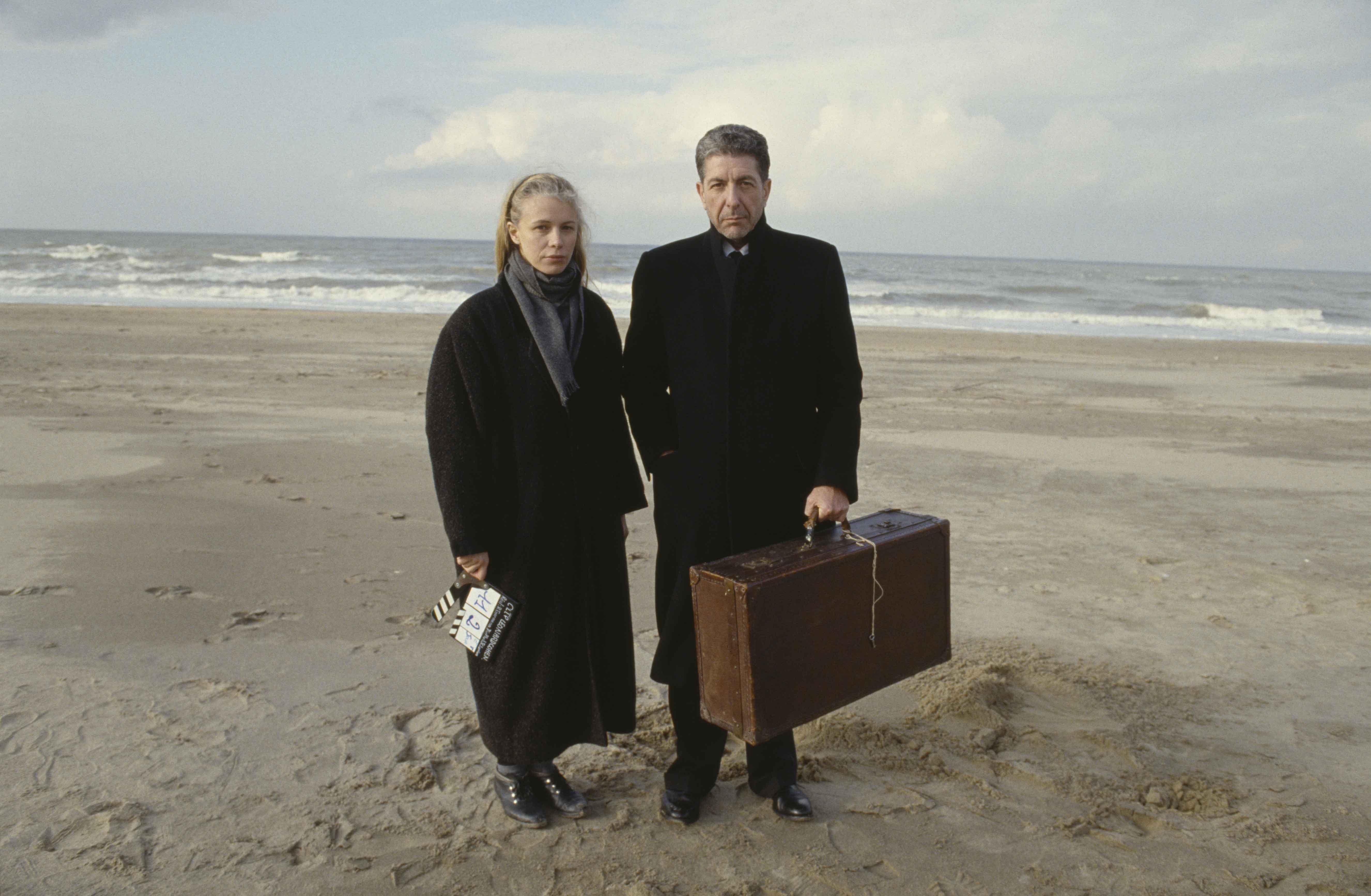 Leonard Cohen e Dominique Isserman