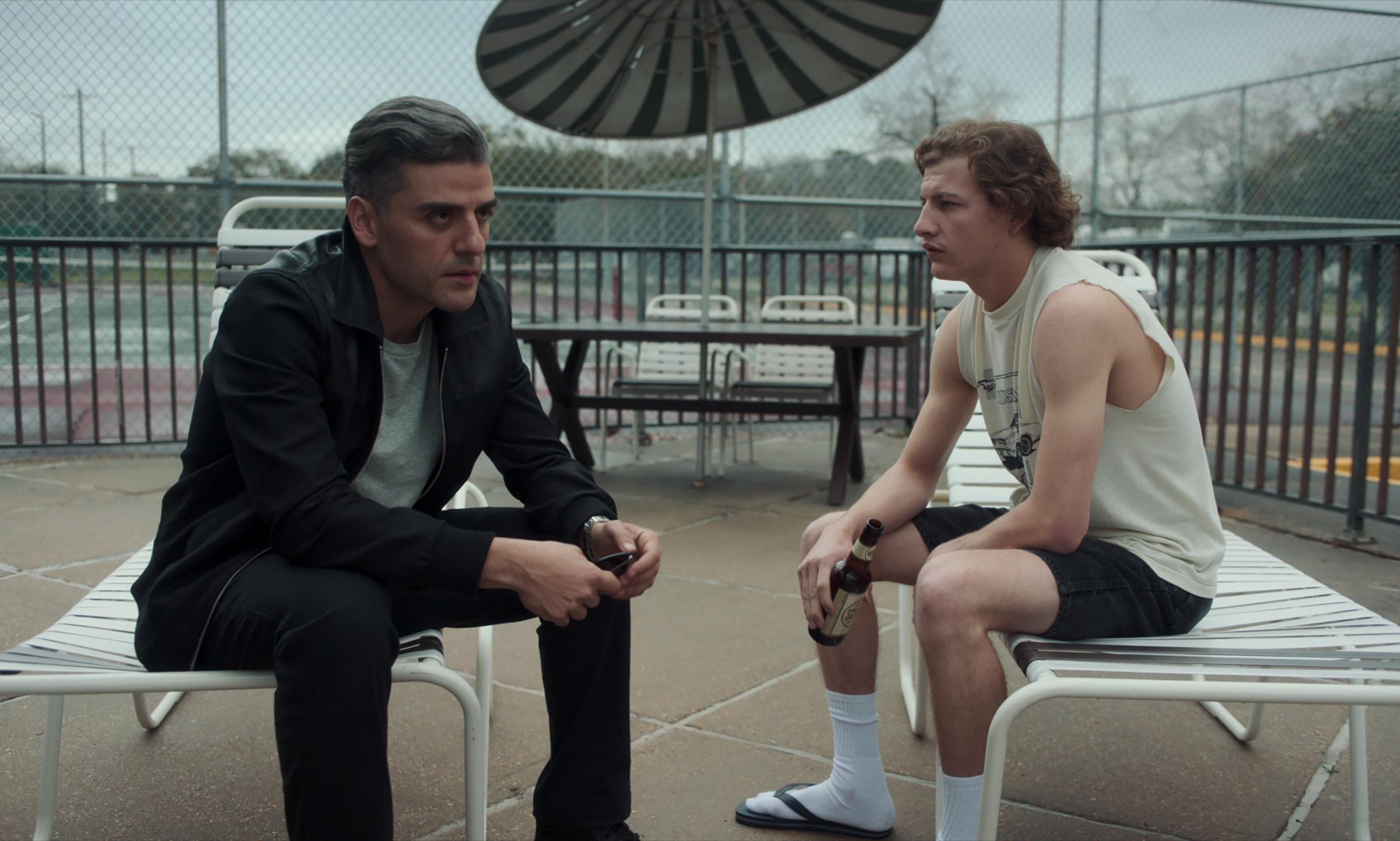Oscar Isaac e Tye Sheridan