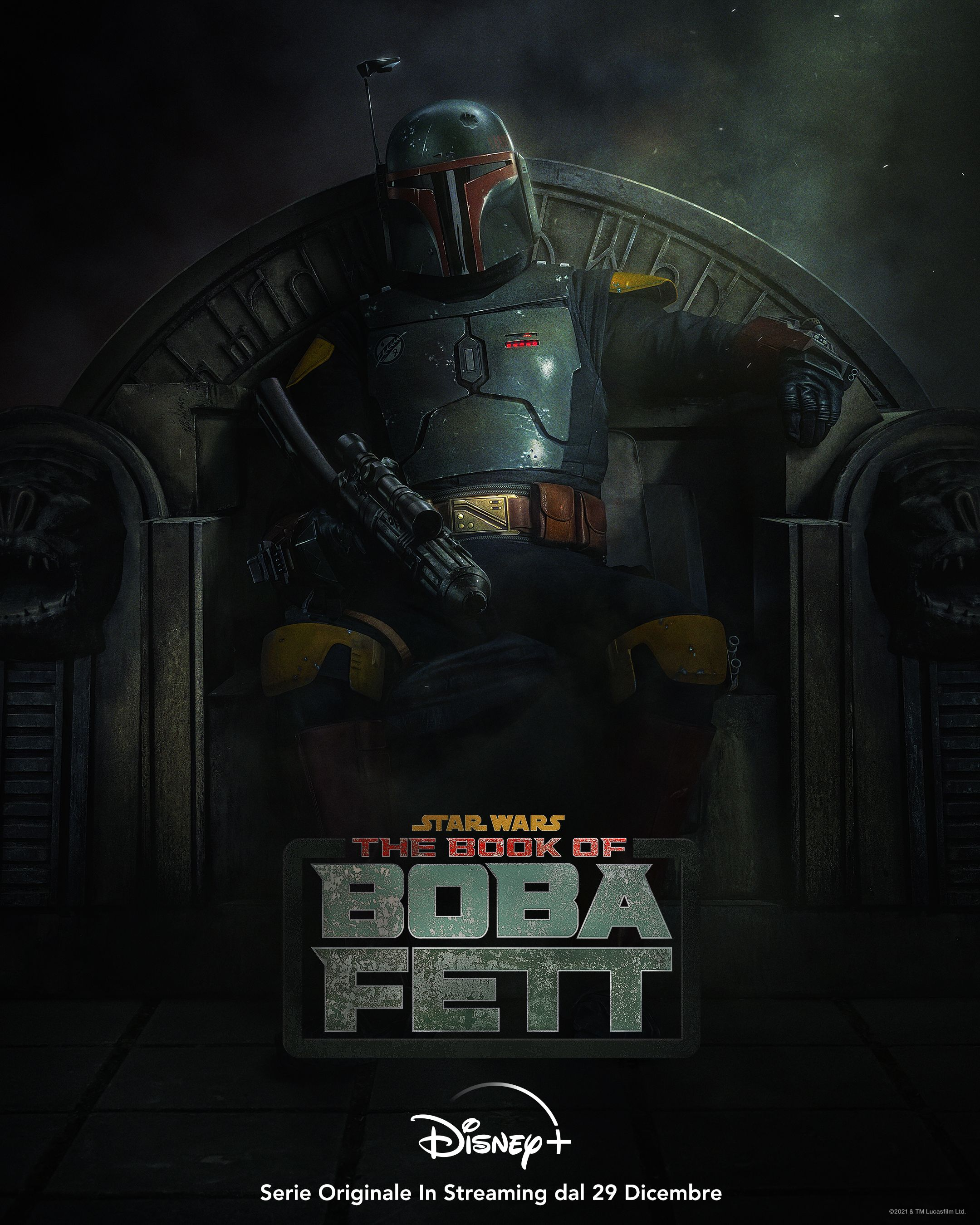 The Book of Boba Fett: il poster