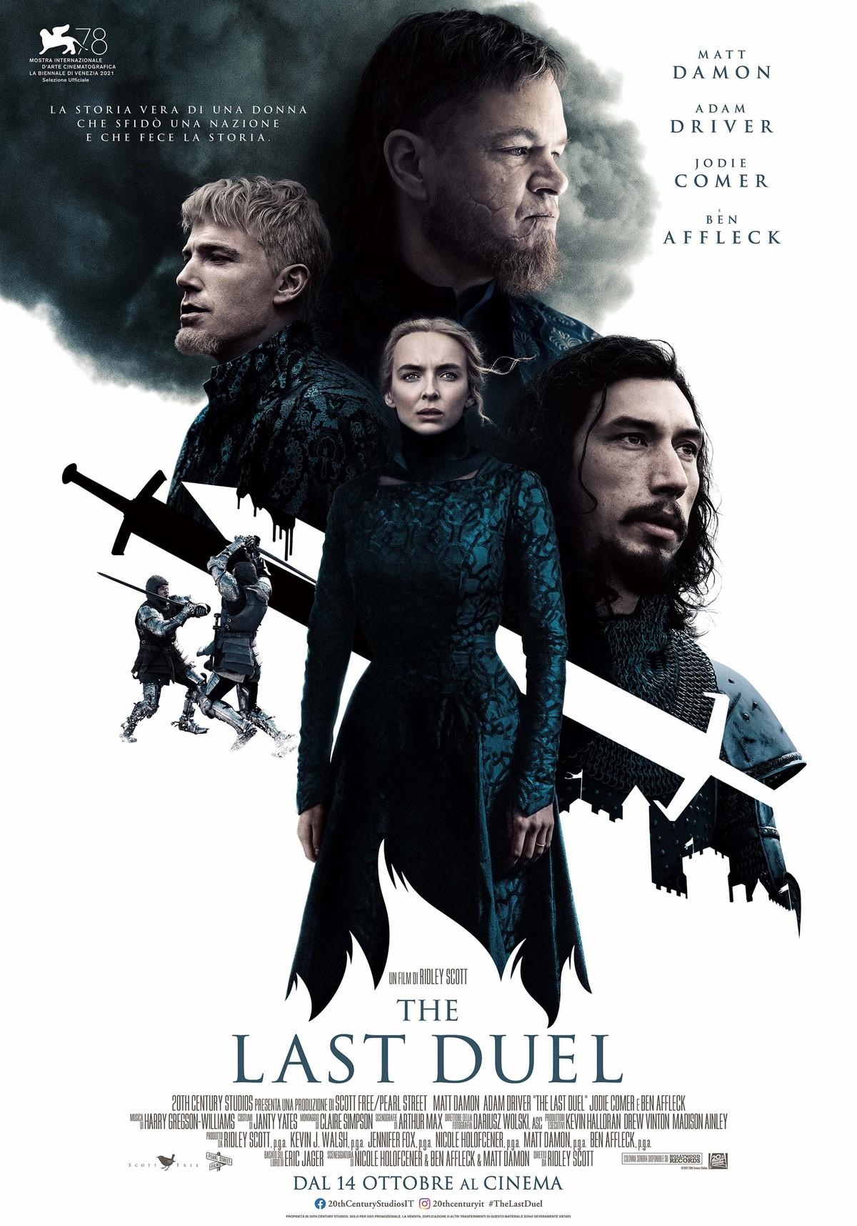 Film in uscita: The Last Duel