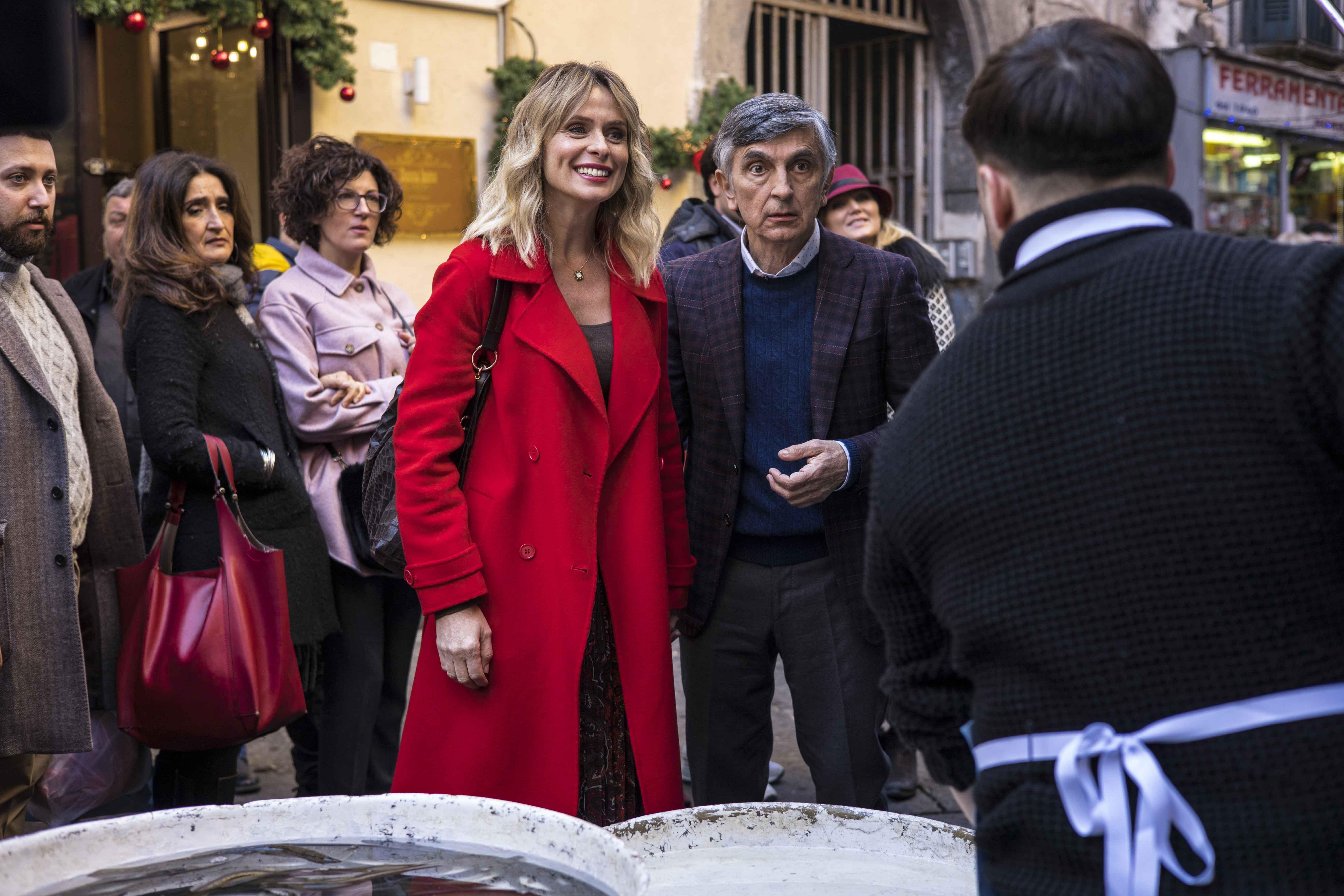 Serena Autieri e Vincenzo Salemme