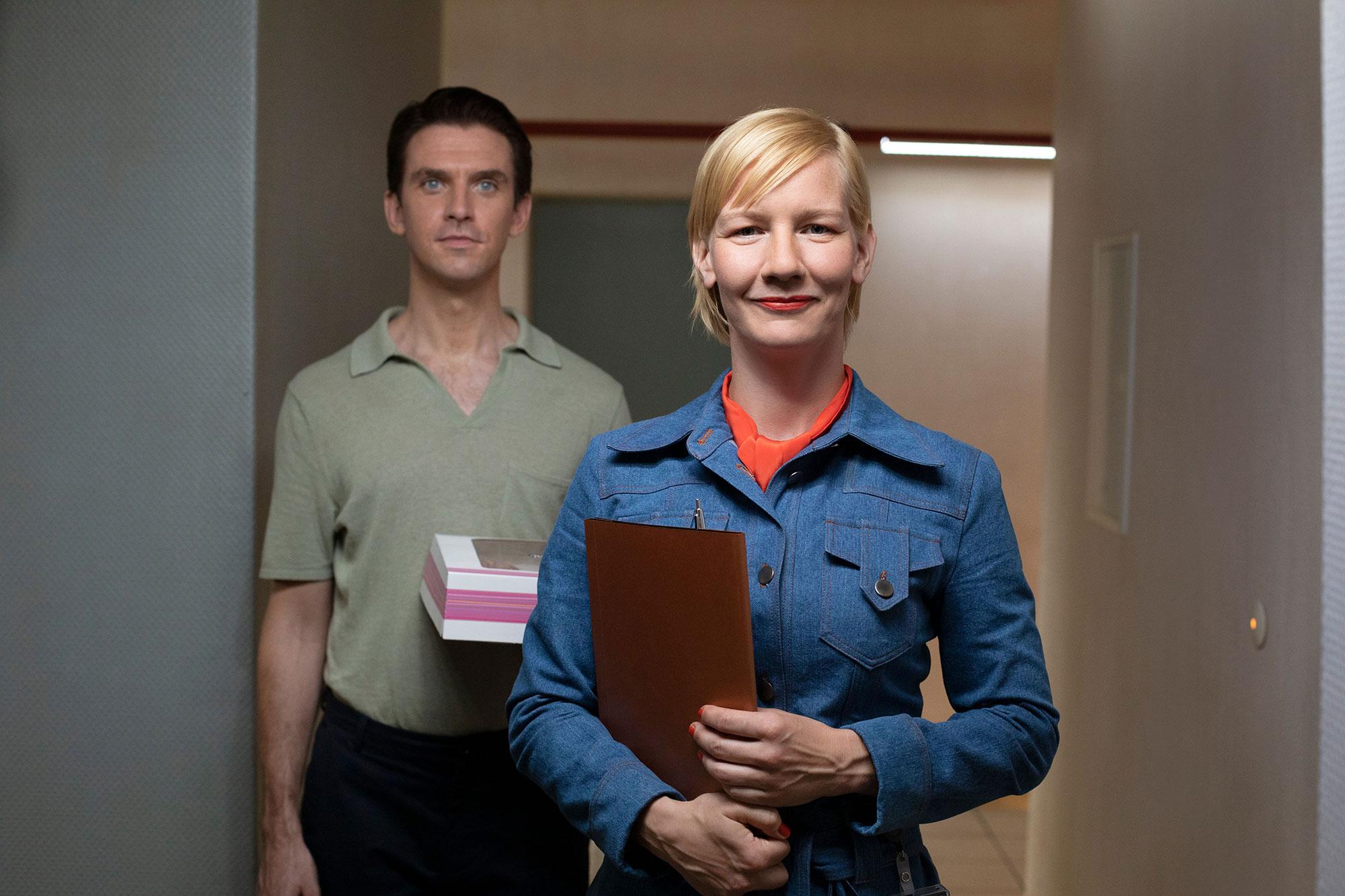 Dan Stevens e Sandra Hüller
