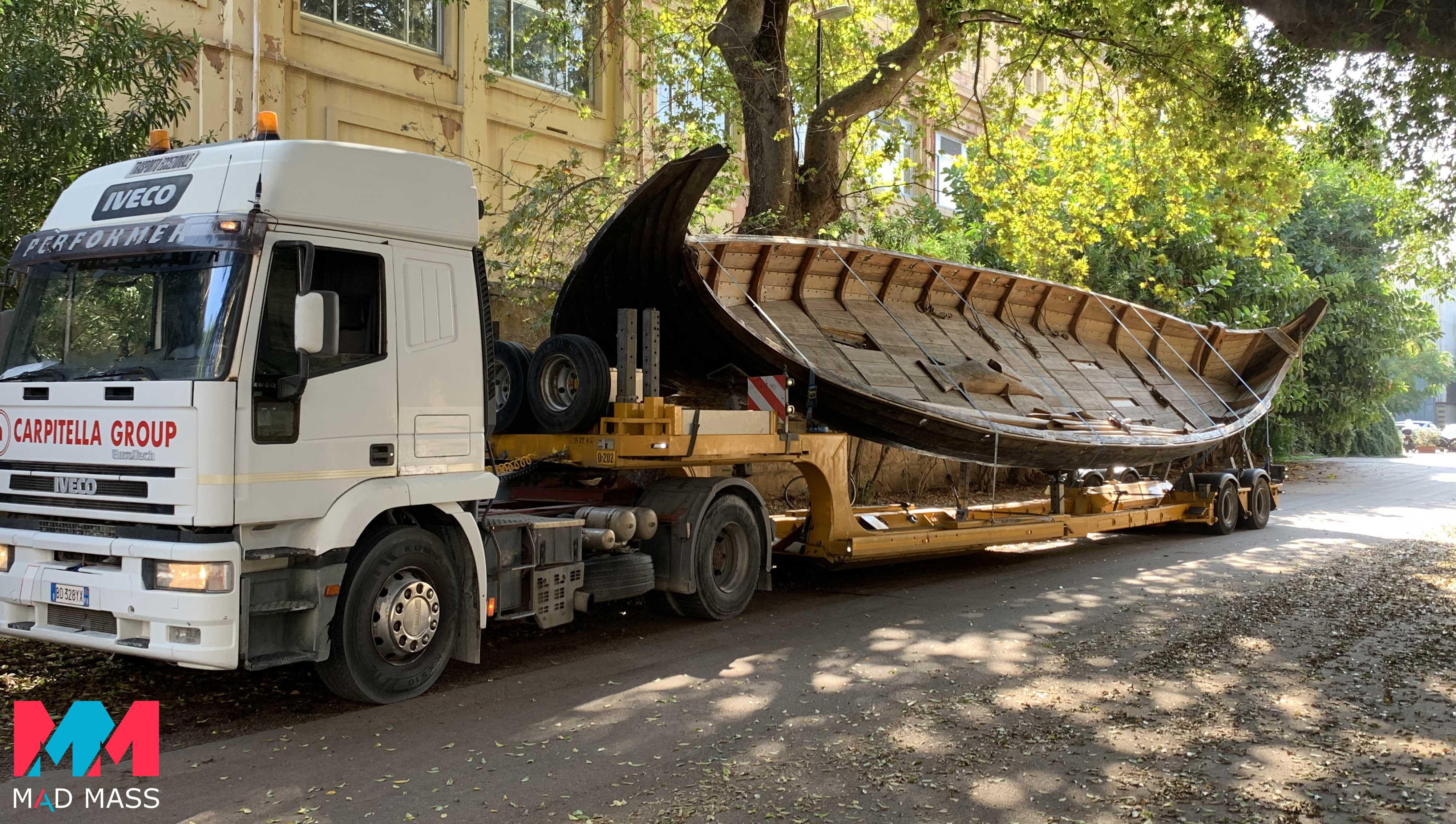 Indiana Jones 5: il vascello vichingo di 17 metri utilizzato per le riprese in Sicilia
