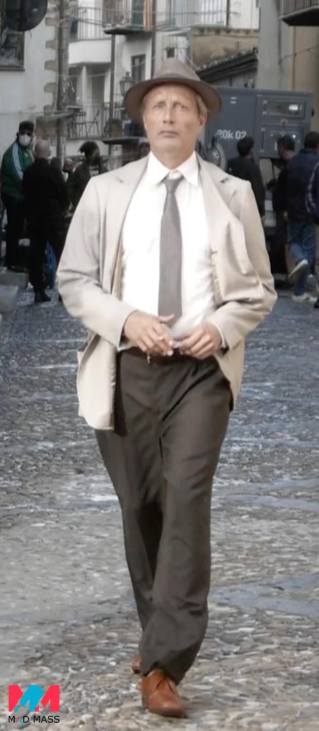 Indiana Jones 5: le foto delle riprese in Italia con Mads Mikkelsen