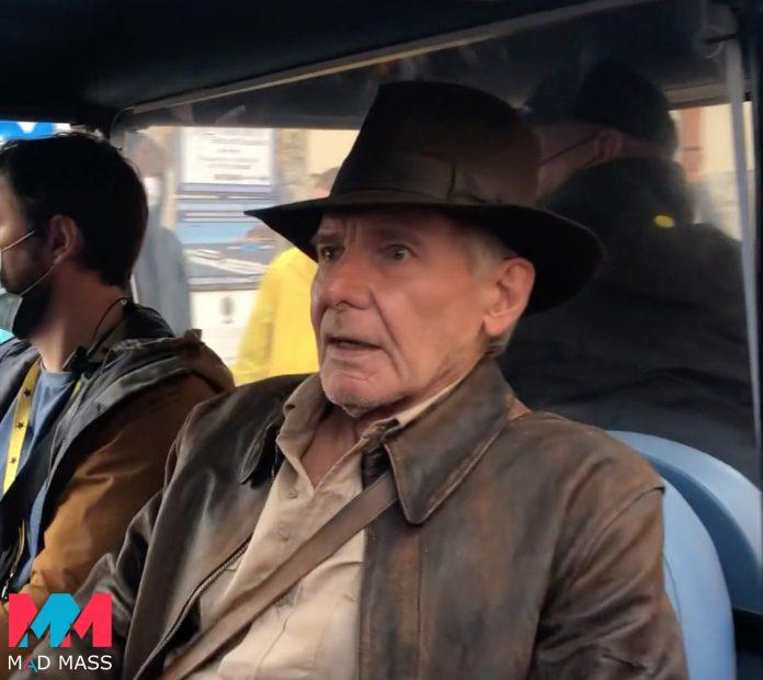 Indiana Jones 5: le foto delle riprese in Italia con Harrison Ford che ritorna Indy