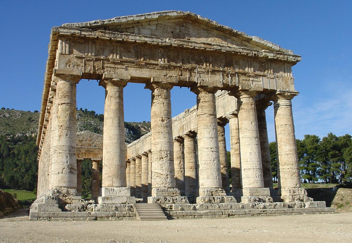 Indiana Jones 5 foto delle riprese in Italia: il Tempio di Segesta in Sicilia