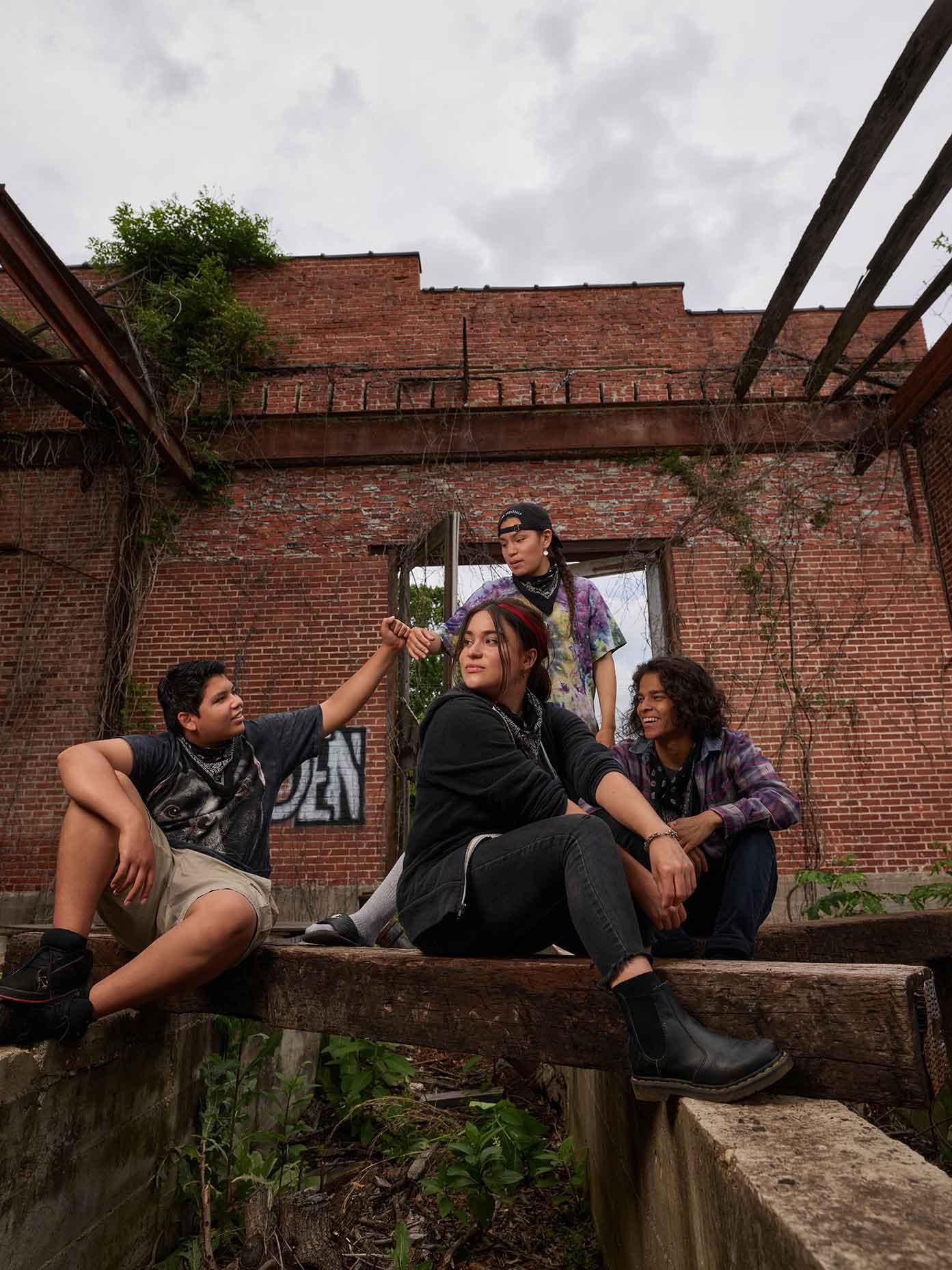 (Lane Factor, Devery Jacobs, Paulina Alexis e D'Pharaoh Woon-A-Tai