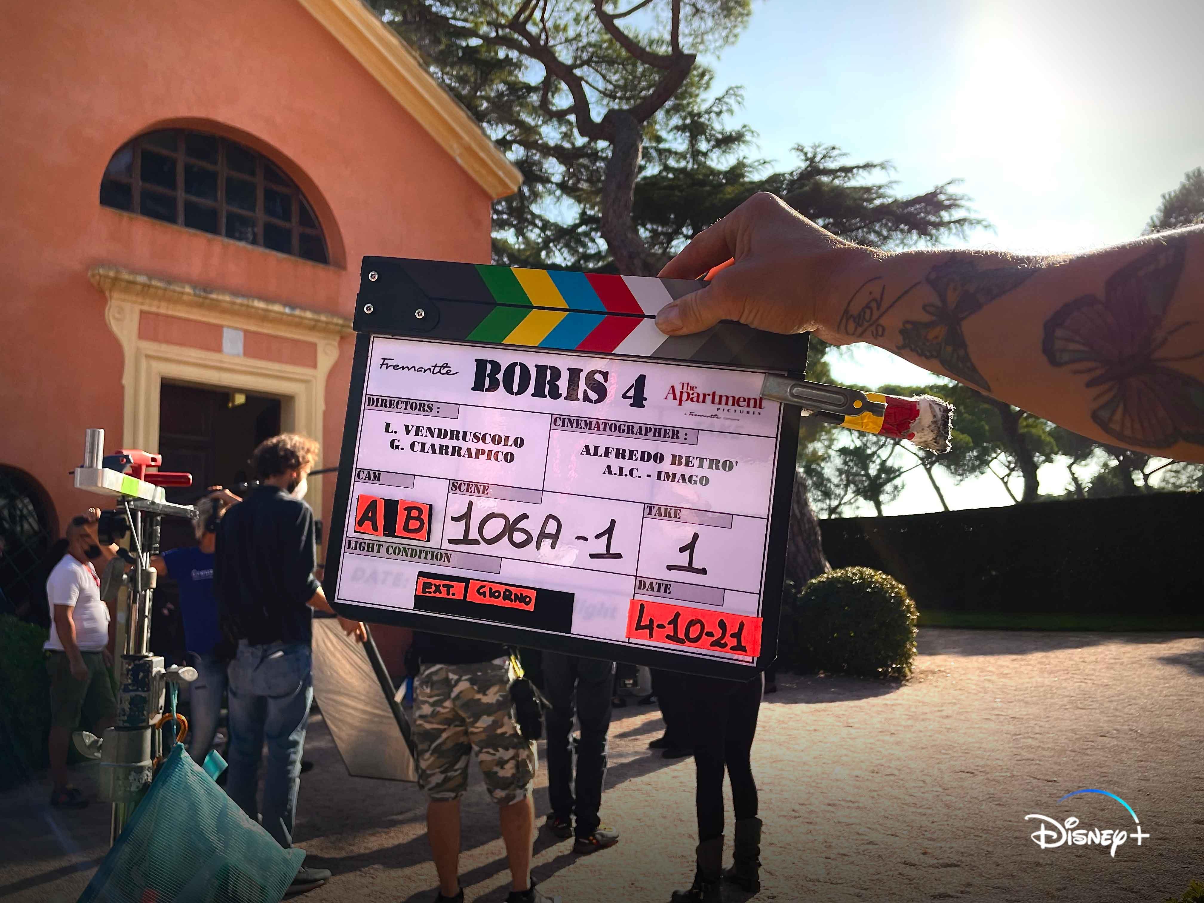 Boris sono iniziate le riprese della quarta stagione in uscita su Disney+